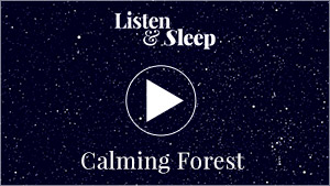 music for meditation, relaxing or undisturbed sleeping forest calming sound