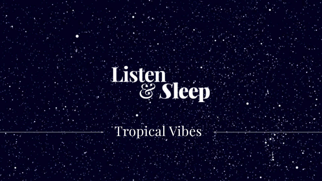 music for meditation, relaxing or undisturbed sleeping tropical soothing sound